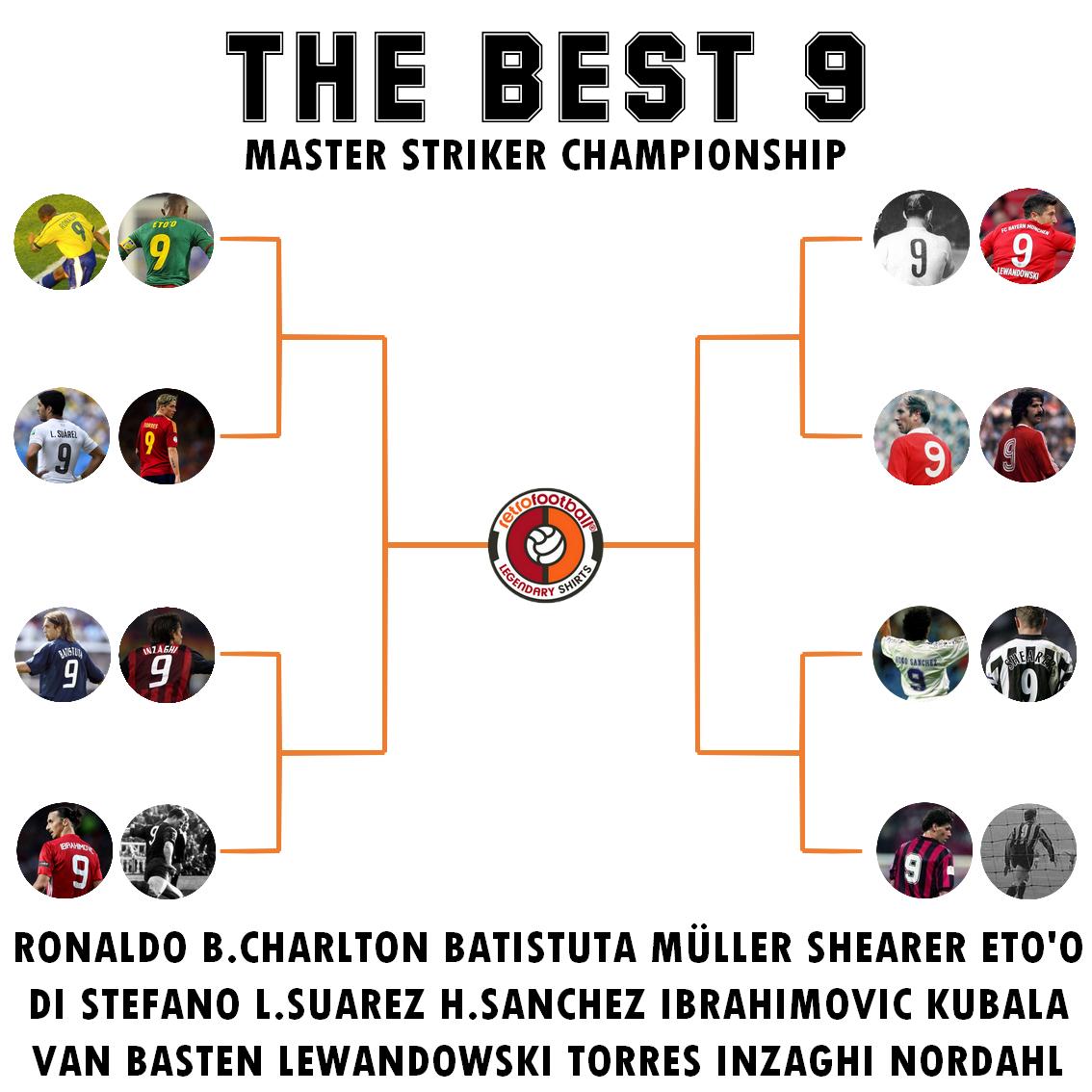 El mejor 9 : el mejor delantero de la historia del fútbol