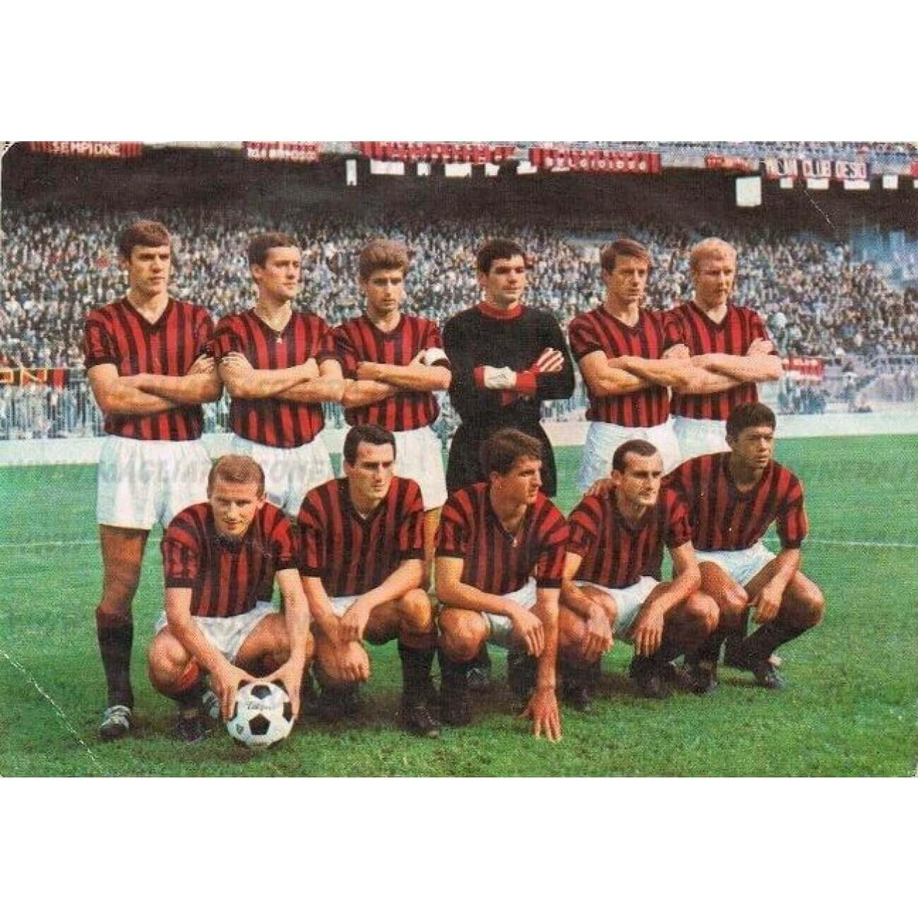 Equipo AC Milan 1966-1967