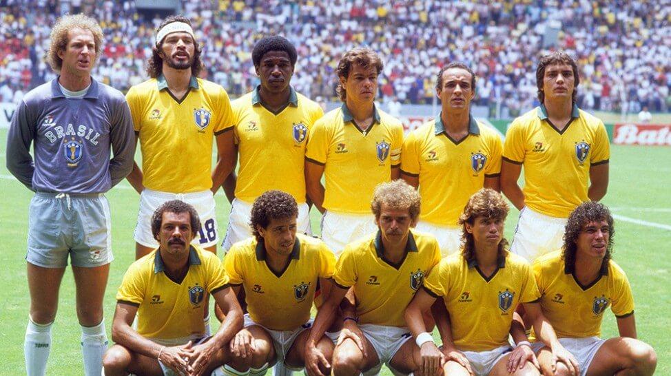 Selección de Brasil en el Mundial de 1986 en Mexico