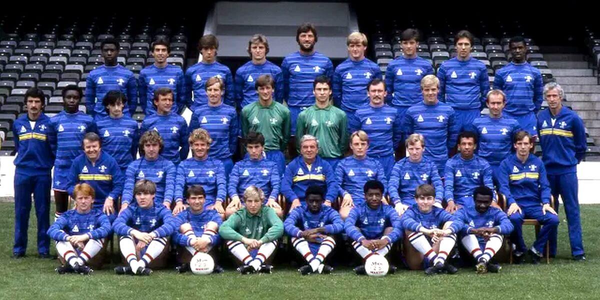 El Equipo del Chelsea en 1984