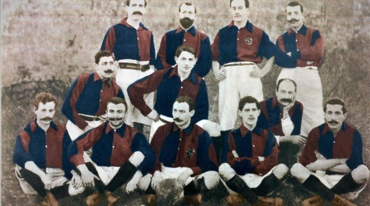 Equipo Barcelona FC fundación del Club
