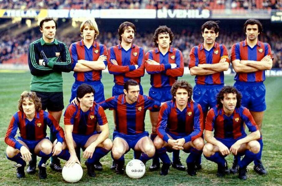 Equipo FC Barcelona 1980-81
