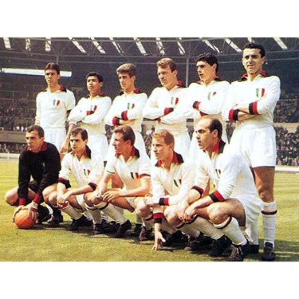 AC Milan 1963 - Partido frente al Benfica