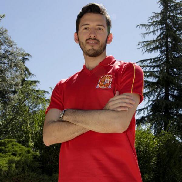 Camiseta retro España regalo navidad fútbol