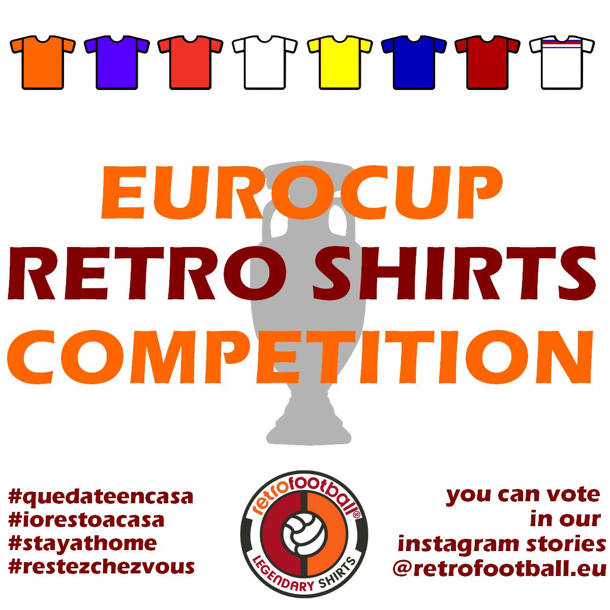 Eurocopa 2020 Retrofootball - Mejor camiseta de fútbol retro de la historia