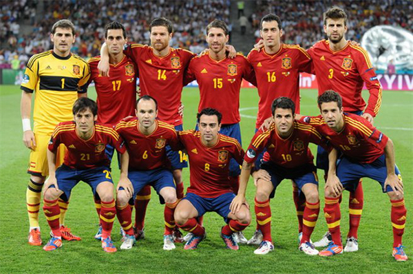 Historia camiseta España