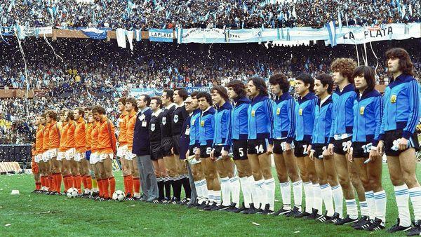 Selección de Holanda en 1978 - Copa del Mundo en 1978