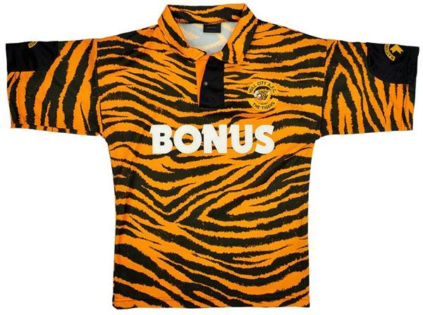 Camiseta Hull City 1992-1993
