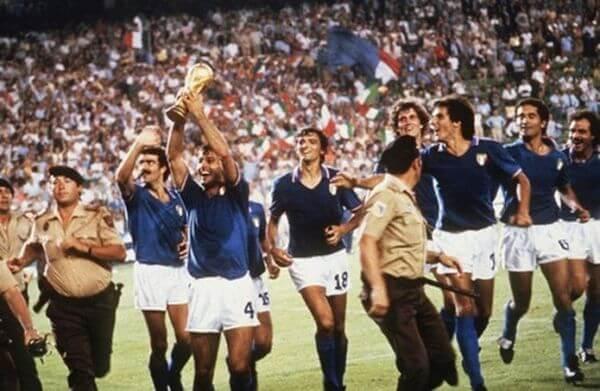 Italia campeon del mundo en el mundial de España 82