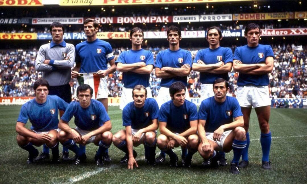 Selección de fútbol de Italia de 1970, Mundial de Mexcio '70