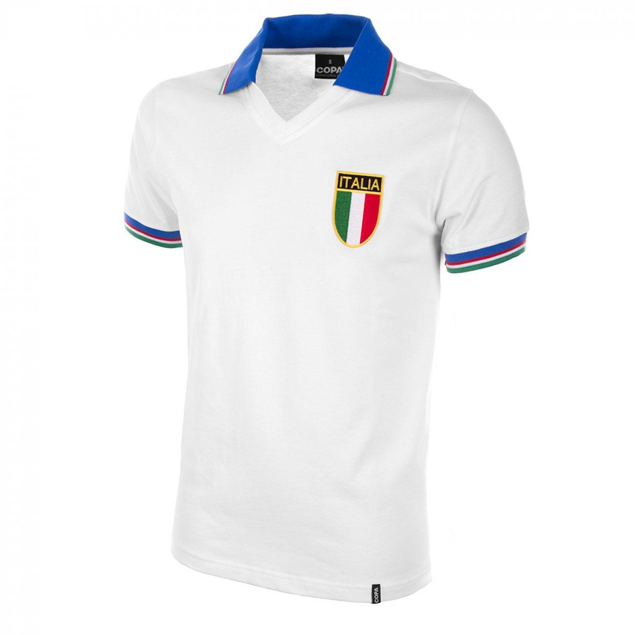 Camiseta Italia 1982 Visitante