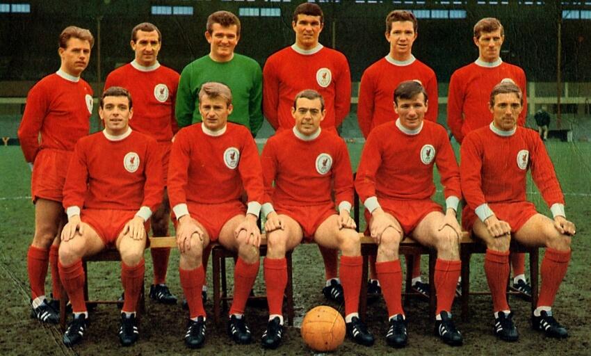 Equipo del Liverpool FC en 1965