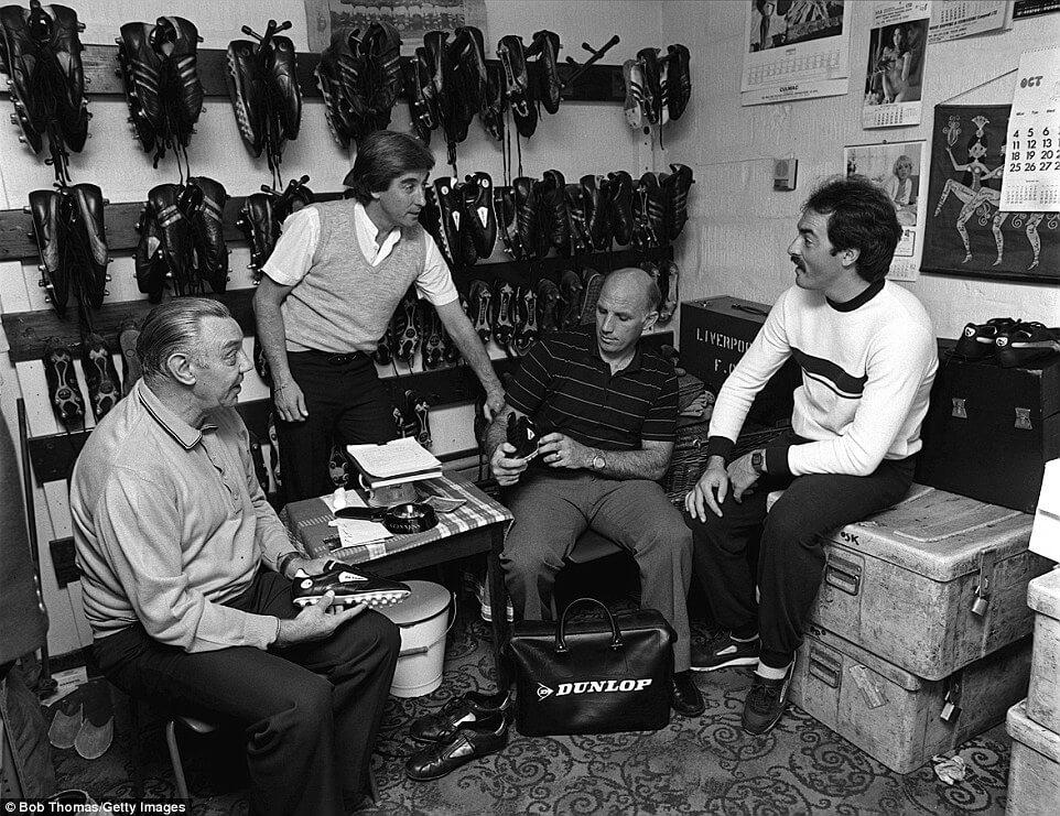 La Boot Room del Liverpool, establecida por Bill Shanlky