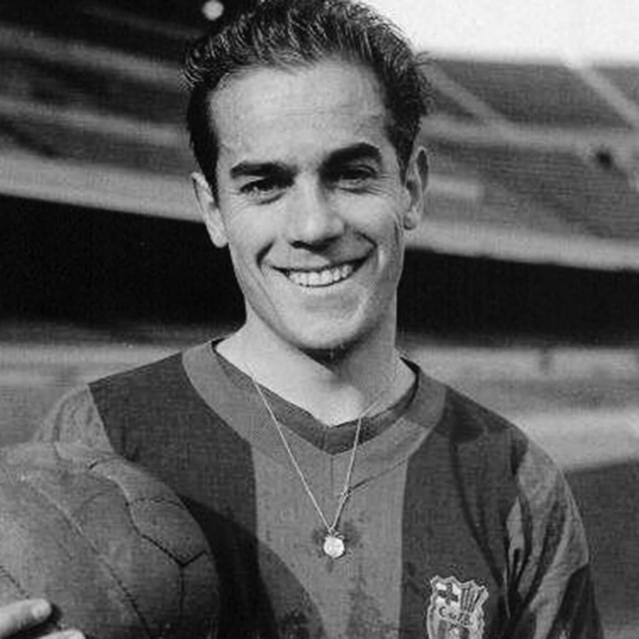 Luis Suarez en el Barcelona FC años 50