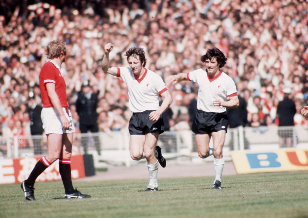 Manchester United Liverpool 1970 1977