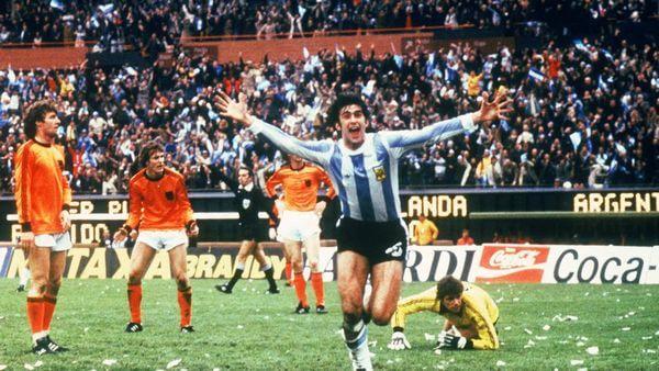 Mario Kempes, el héroe de la Copa del Mundo de Argentina 1978