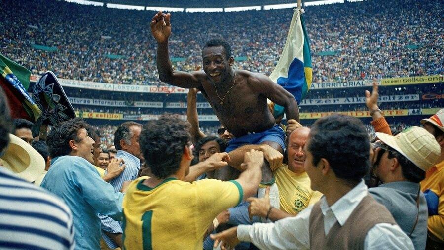Pelé Campeon Mundial 1970 Mexico