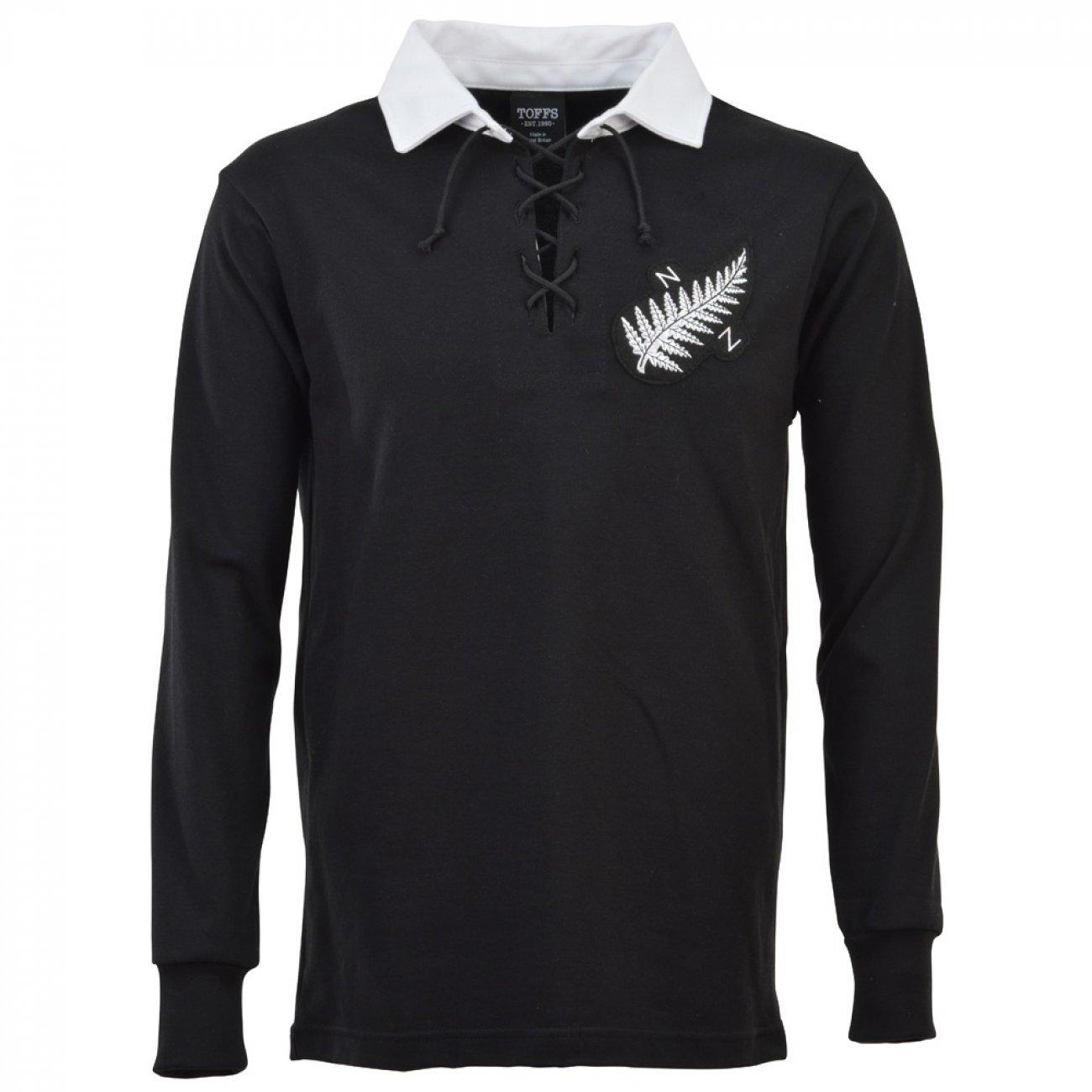 Camiseta rugby All Blacks Nueva Zelanda 1924