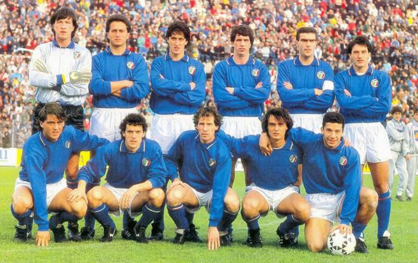 Selección Italia 1988