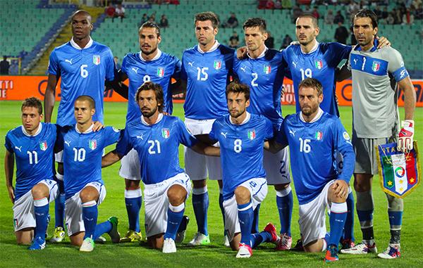Selección Italia 2012