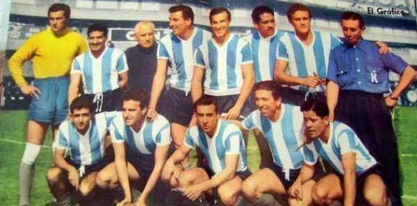Selección de Argentina en 1958, Mundial en Suecia