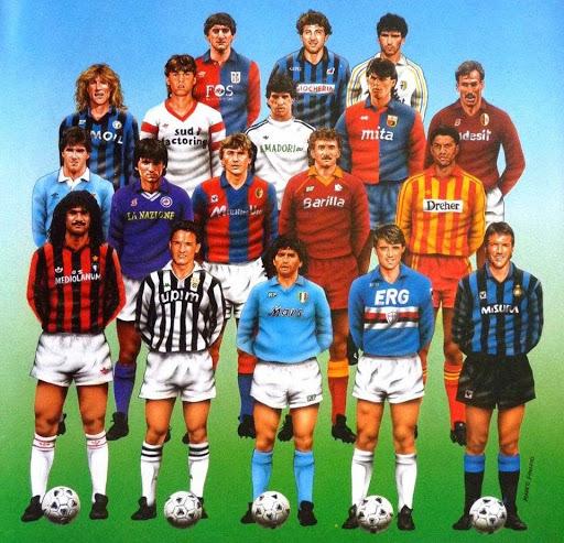 Serie A de los años 80, la época de oro de la liga italiana