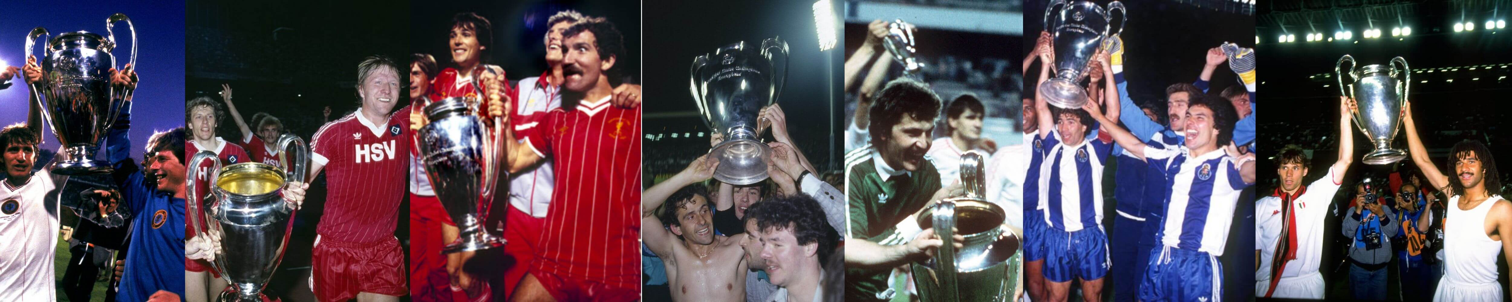 Champions League winners 1980s