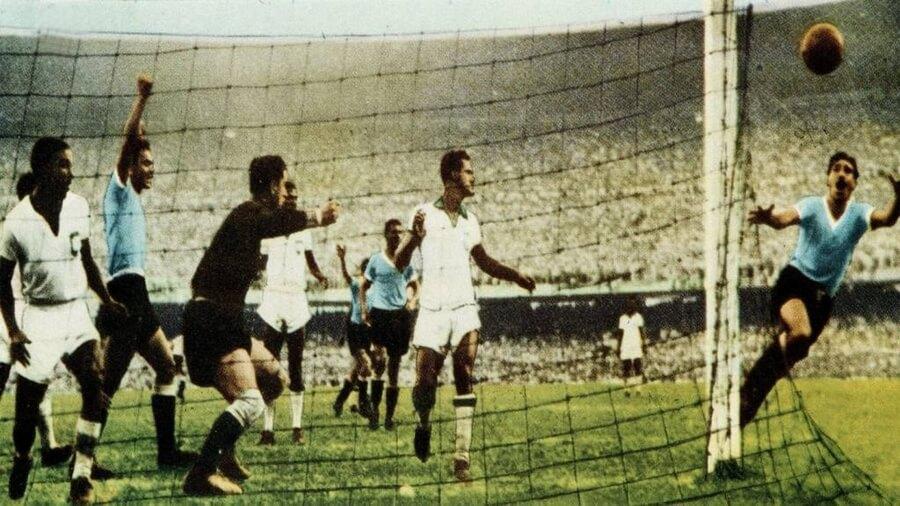 Uruguay Brasil Maracanazo Mundial 1950