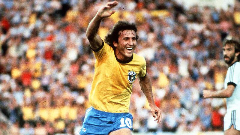 Zico Mundial Mexico 1986 Brasil